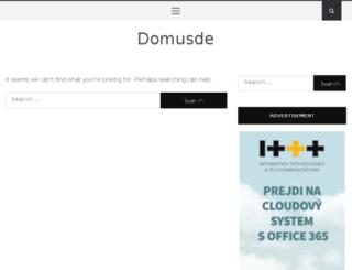 domusde.com screenshot