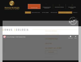 domusecologia.com screenshot