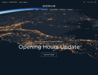 domustiles.co.uk screenshot