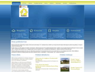 domy-prefabrykowane.org.pl screenshot