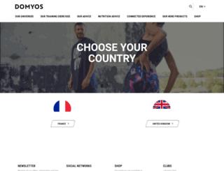 domyos.com screenshot