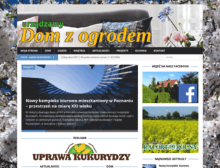 domzogrodem.pl screenshot