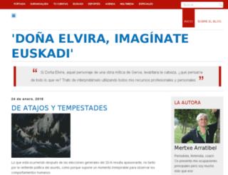 donaelvira.durangon.com screenshot