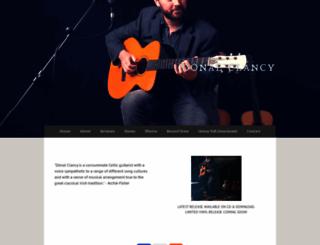 donalclancy.com screenshot