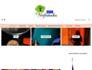 donaperfeitinha.com screenshot