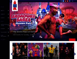 donate.broadwaycares.org screenshot