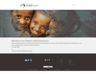 donate.hopechest.org screenshot