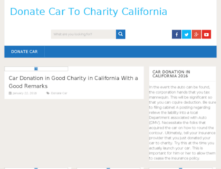 donatecartocharity-california.com screenshot