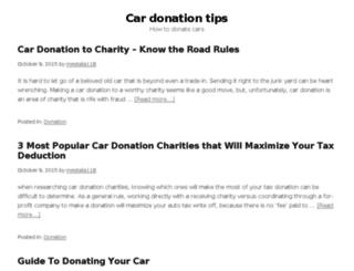 donatemachine.com screenshot