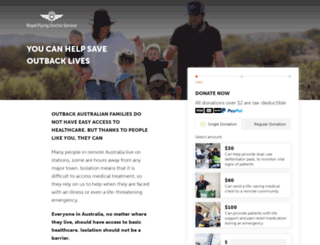 donatese.flyingdoctor.org.au screenshot