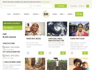 donations.gobgr.org screenshot