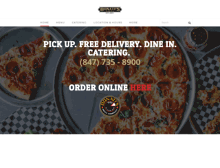 donatispizza.com screenshot