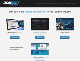 donbestcorp.com screenshot