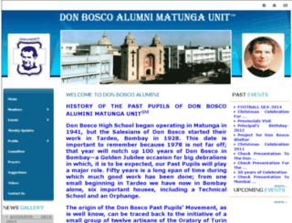 donboscoalumnimatungaunit.com screenshot