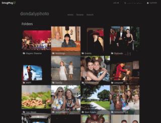 dondalyphoto.smugmug.com screenshot