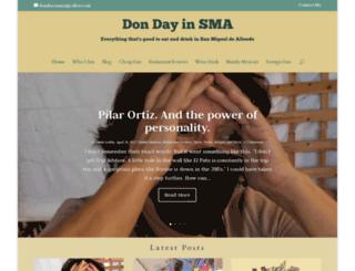 dondayinsma.com screenshot