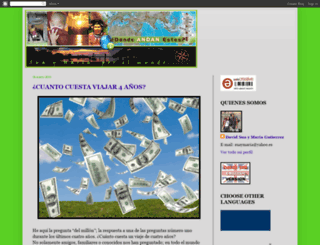 dondeandanestos.blogspot.com screenshot
