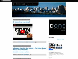 doneartbranding.blogspot.com screenshot
