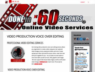 donein60.com screenshot