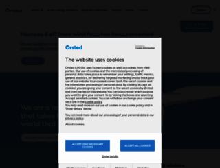 dongenergy.co.uk screenshot