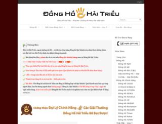 donghodeotaychinhhang.com screenshot