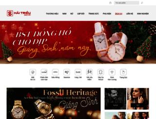 donghohaitrieu.com screenshot