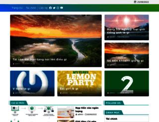 donghotantheky.vn screenshot