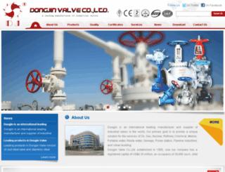 dongjin-valve.com screenshot