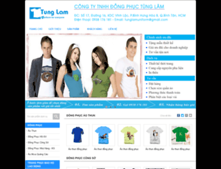 dongphucvn.bizz.vn screenshot