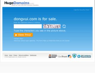 dongvui.com screenshot