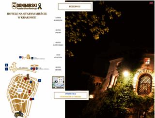 donimirski.com screenshot