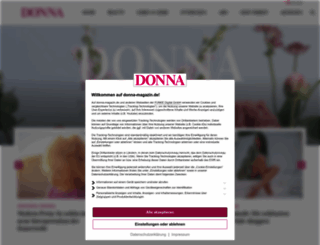 donna-magazin.de screenshot