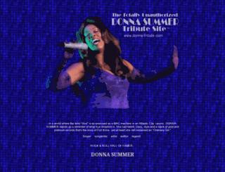 donna-tribute.com screenshot