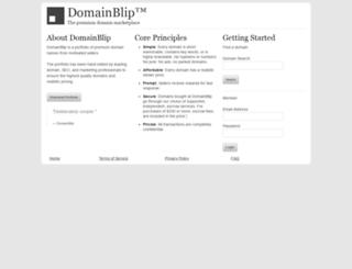 donnaadams.com screenshot