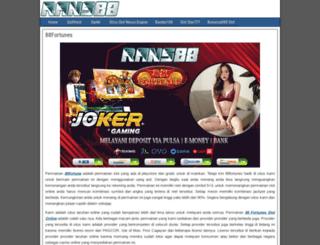 donnabalsan.com screenshot