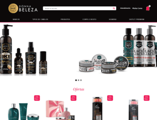 donnabeleza.com.br screenshot