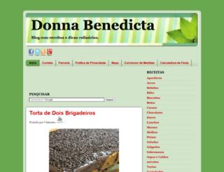 donnabenedita.blogspot.com.br screenshot