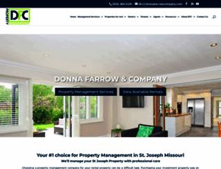 donnafarrowcompany.com screenshot