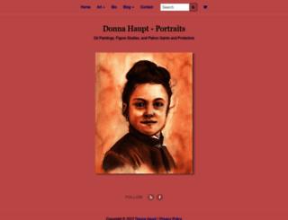 donnahaupt.com screenshot