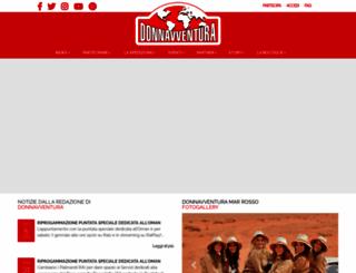 donnavventura.com screenshot