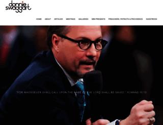 donnieswaggart.com screenshot