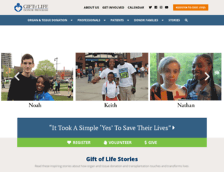 donors1.org screenshot