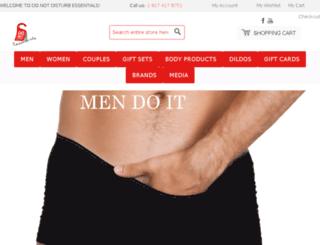 donotdisturbessentials.com screenshot