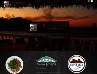 donpedros.com screenshot