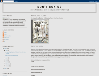 dontboxus.blogspot.com screenshot