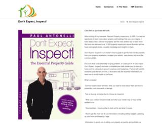 dontexpectinspect.com.au screenshot