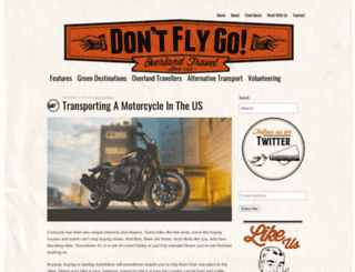 dontflygo.com screenshot