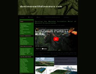 dontmesswithdinosaurs.com screenshot