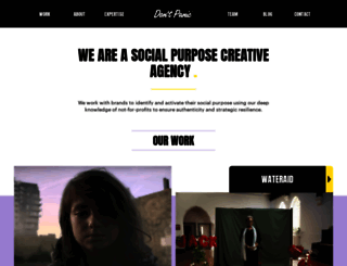 dontpaniclondon.com screenshot
