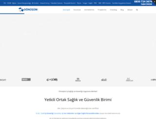 donusumisg.com screenshot